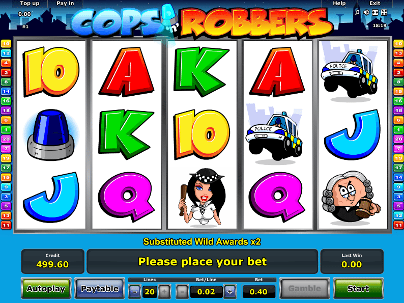 online casino ratgeber cops and robbers slot